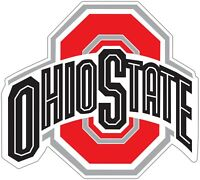 "Ohio State Buckeyes Retro NCAA Color Vinyl Decal - You Choose Size 2""-29"""