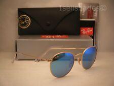 Ray Ban 3447 Matte Gold w Blue Polar Lens (RB3447 112/4L 50mm size)