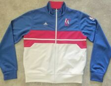 Rare NBA LA Clippers Rhinestone Women Adidas Basketball Sports Zip Ladies Jacket
