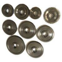 9Pcs/Set CJ0618 Household Small Lathe, Micro Lathe Gear, Metal Exchange Gea S8V2