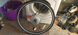 28inch 36v Brushed Electric front Bike Wheel