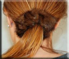 New Demi Buff Mink Fur Scrunchy - Efurs4less