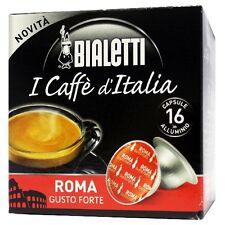16 Capsule in alluminio Bialetti Mokespresso ROMA - Mokona Tazzona