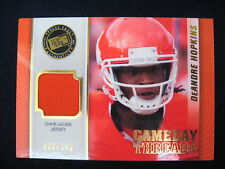 Deandre Hopkins Game-Used Jersey Card (Clemson)-2013 Showcase #'D To 149