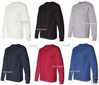 Champion - Long Sleeve Tagless Cotton T-Shirt CC8C S-2XL