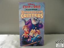 Chip 'N' Dale Rescue Rangers - Undercover Critters VHS