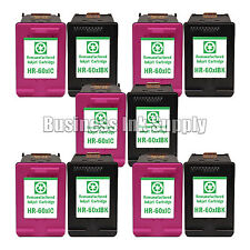 10 PACK HP 60XL ink cartridge for HP Deskjet F4200 F4480 F4240 F4230 F2480 D2563
