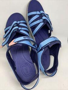 Teva Women's Tirra Slide, Blue , 7 M US