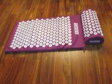 Purple YOGU Acupressure Mat & Pillow - New Without Box