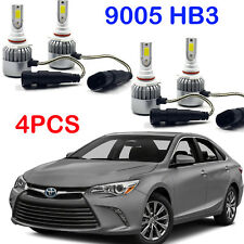 2 Pairs LED Headlight Bulbs 9005 HB3 Kits For Toyota Avalon 2015-2013 Hi/Lo Beam
