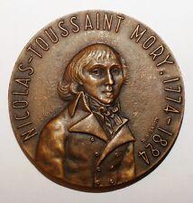 MEDAILLES - Medaille Nicolas-Toussaint Mory 1774-1824 bronze (8337 M)