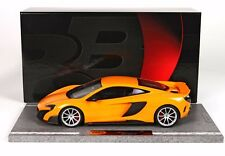 BBR McLaren 675LT ORANGE 1:18 LE 60pcs*Nice!Almost Sold Out*NEW FRESH STOCK!