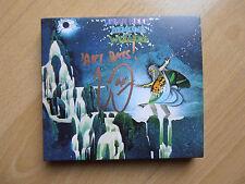 Uriah Heep Tecno & Wizards Deluxe 2cd & ORI. SIGNED/mano firmato da Mick Box!
