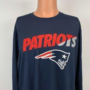 New Nike New England Patriots NFL Equipment  Dri Fit Training T Shirt NFL XL