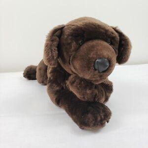 Animal Alley Toys R Us Realistic Chocolate Brown Lab Puppy Dog Stuffed Animal