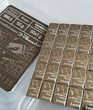 10 GRAM STRIP (10 x 1g) 999.5 PALLADIUM VALCAMBI SWISS BULLION BAR (NOT GOLD)