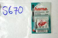 Hama 42982 Stromversorgungsstecker StromStecker Sony Cassette Player 0,75mm S670