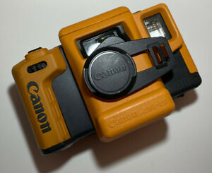 Canon AS-6 ACTY Underwater 35mm Film Orange Color Camera Film under water kit