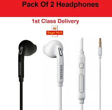 2X Samsung Galaxy S6 S7 S8 plus Note 5 Headphones Headset Hands Free Earphones