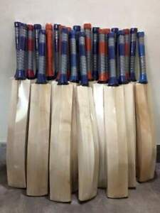 HALLOWEEN Made English Willow Cricket Bat Grade 1 BIG EDGES 40-45 MM Full Size