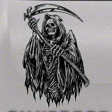 Reaper Skull Tattoo Tailgate Hood Window Decal Vehicle Truck Car SUV Vinyl Side