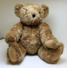 "Authentic 16"" Classic Vermont Teddy Bear, Jointed, Moveable Head, Usa"