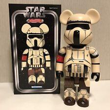 Medicom 400% Bearbrick ~ Star Wars Shoretrooper Be@rbrick 2017 Exhibition