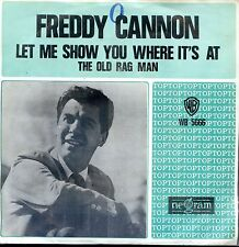 7inch FREDDY CANNON let me show you where it's at  HOLLAND EX +PS