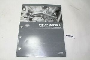 2005 V-Rod VRSC Harley parts catalog 99457-05 WOW!!!!!!!!!! book manual EPS23508