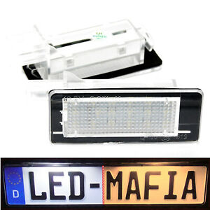 Renault Ca Laguna Megan 2 3 Zoe - LED License Plate Light Module - 6000K