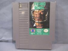Nintendo TECMO BOWL Tested Game Cartridge only 1989 NES
