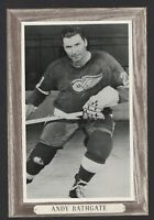 1964-67 Beehive Group III Detroit Red Wings Photos #63 Andy Bathgate