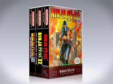 NEW custom game storage cases NINJA GAIDEN NES TRILOGY -No Game- I II III 1 2 3