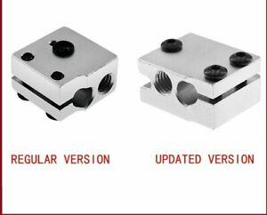 Volcano Aluminium Heater Block For 1.75/3mm Filament 3D Printers Parts Accessory