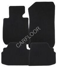 Fiat Palio Weekend ab 01.98 Fußmatten Velours Deluxe schwarz mit Rand schwarz