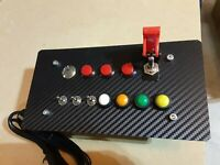 12 Function Sim Flight Truck Car Racing Button Box - Plug and Play USB For PC