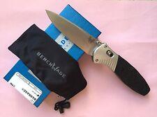 Benchmade 581 Osborne Barrage Drop Point Axis Assist Plain Edge Folding Knife