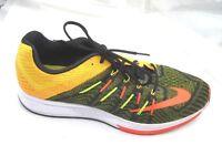 Nike Zoom Elite 8 yellow black orange mens running sneakers shoes sz 14M  2015