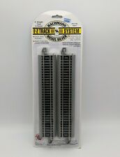 "NEW Bachmann E-Z Track HO Scale 9""  Straight Track 4-Pack 44511 Nickel-Silver"