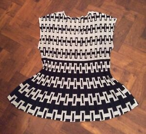 Ladies Smart Crinkle Finely Pleated Top Blouse Roman Originals Size M 14/16 BNWT