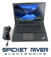 "Lenovo ThinkPad T450S 14"" i5-5300U 2.30GHz 128GB SSD 8GB RAM Win10Pro #58268"