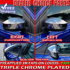 2012 2013 2014 2015 2016 Ford Focus Chrome Mirror COVERS Without Turn Signal HL