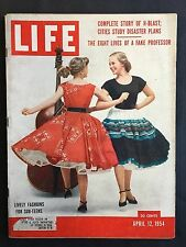 Life Magazine  April 12 1954  Lively Fashions for Sub-Teens