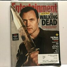 Old 2012 Entertainment Weekly Magazine with The Walking Dead on the Cover