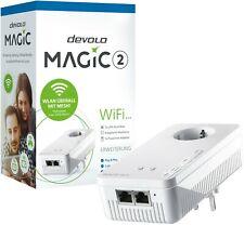 DEVOLO MAGIC 2 Wifi Einzeladapter Powerline WLAN Erweiterung Steckdose 2400 Mbps