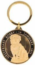 Scotland 40mm Coin Style Souvenir Keyring With Greyfriars Bobby Design