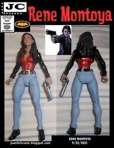 RENE MONTOYA , DC Universe/ Marvel custom figure Batman