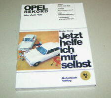 Reparaturanleitung / Handbuch Opel Rekord A - Baujahre bis 1965