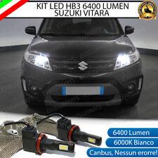 KIT FULL LED SUZUKI VITARA LAMPADE ABBAGLIANTI LED HB3 6000K NO ERRORE