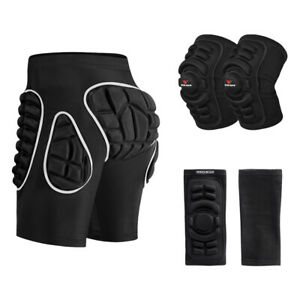 Ski Hip Protection Full Body Impact Protector Knee Elbow Pads for Roller Skating
